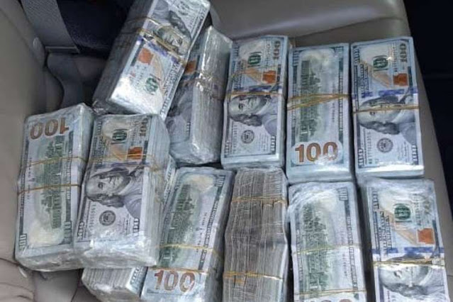 Detenido con 650.000$ en efectivo obtenidos en venta de armas de guerra