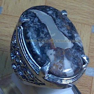 Cincin Batu Gambar Keris - ZP 929