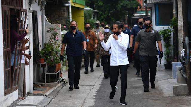 Jokowi: Saya Tegaskan Belum Ada Pelonggaran PSBB