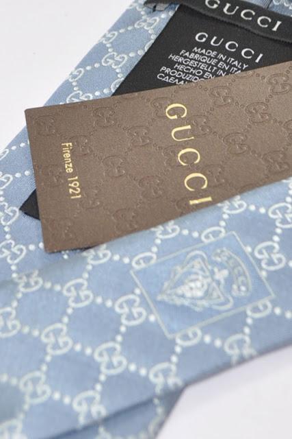 Gucci Ties  GG Pattern