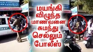 Police Lathicharge on Jallikattu Protesters!