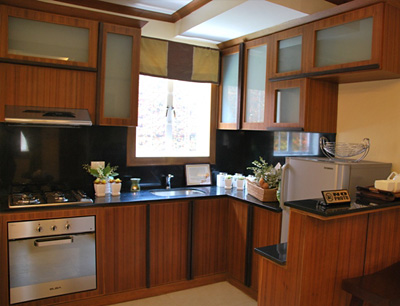kitchen design for townhouse philippines carmela model house of camella home series iloilo by 415
