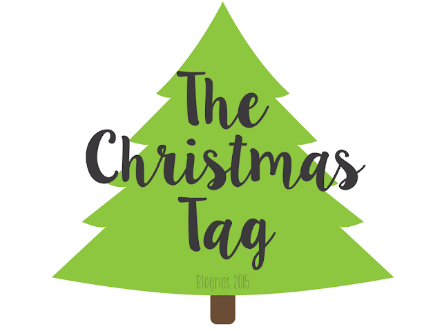 The Christmas Tag 2015 Blogmas