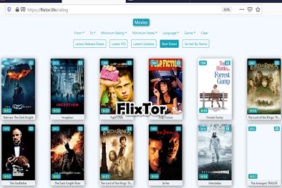 FlixTor - Free Movie Streaming Sites No Sign Up