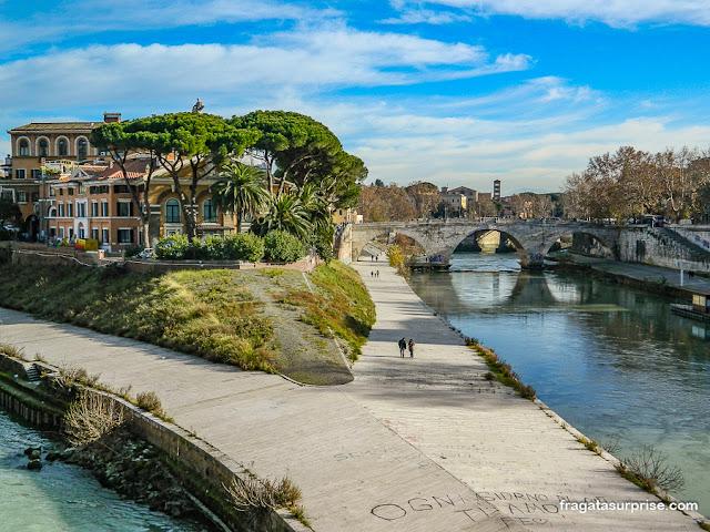 Ilha Tiberina, Roma