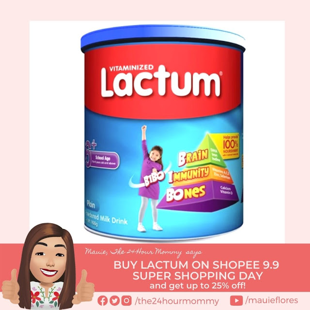 Lactum 6+ Plain Powdered Milk Drink 900g