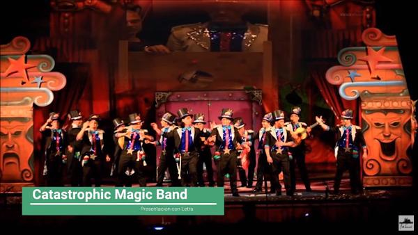 """Presentación con Letra Comparsa """"Catastrophic Magic Band"""" de Jc Aragón Becerra (2013)"""