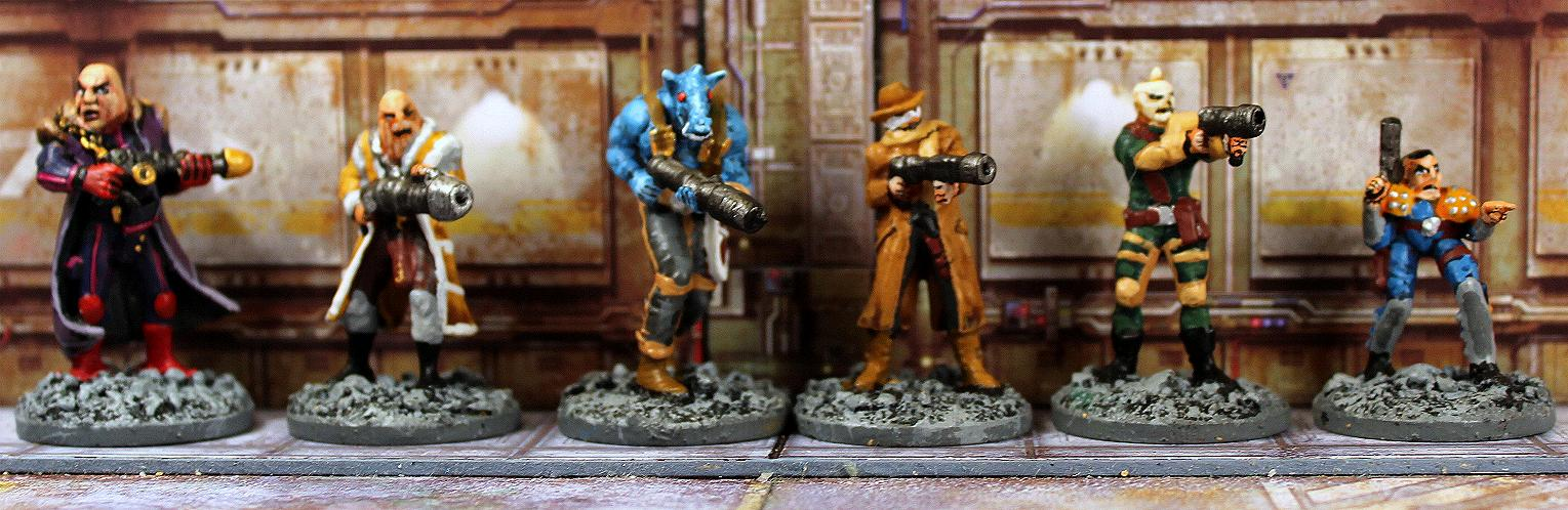 Strontium Dog The Good The Bad And The Mutie Starter Game Warlordgames
