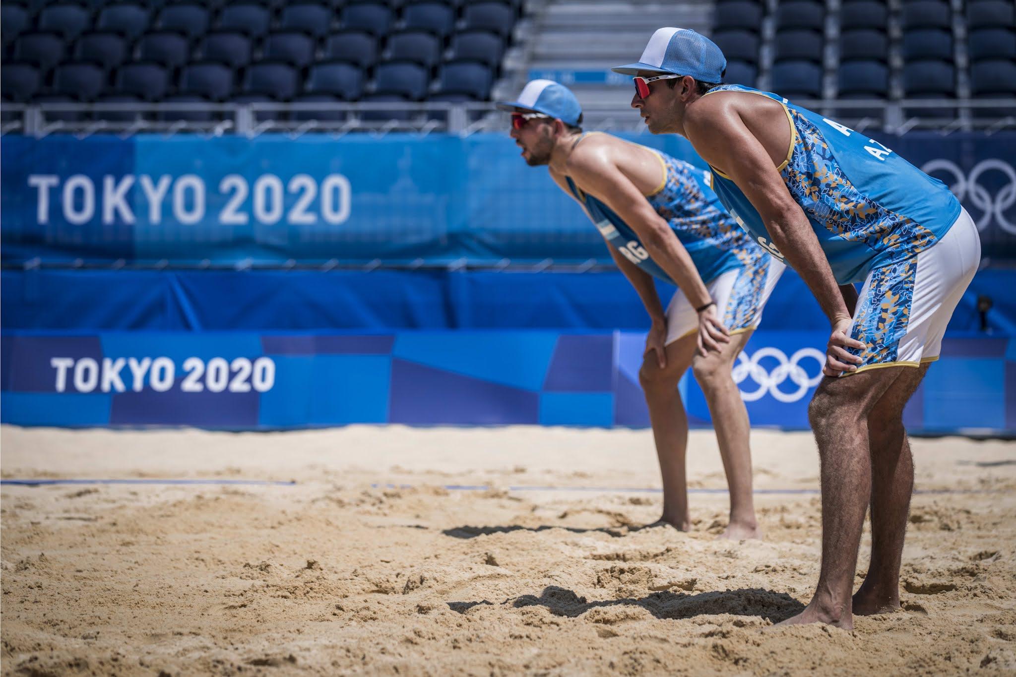 Beach Volley: la dupla argentina Capogrosso-Azaad cayó ante la neerlandesa Brouwer-Meeuwsen