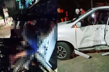 Kecelakaan Maut di Nganjuk, 2 Orang Tewas Tabrak Mobil Putar Balik