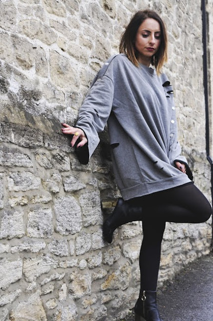 zara earrings, primark fashion, fashion blogger, highstreet fashion, how to style jumper dresses, winter fashion, fashion trends 2017