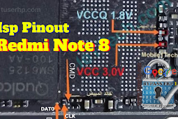 Redmi Note 8 Isp Pinout