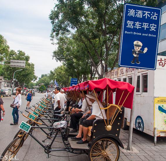 Triciclos para pasear por los Hutongs de Pekin
