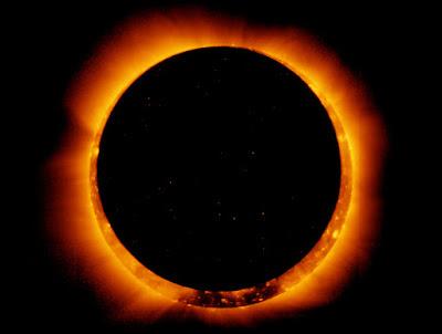 సోలార్ ఎక్లిప్స్ రింగ్ ఆఫ్ ఫైర్ Solar Eclipse Ring of Fire