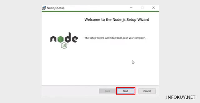 Cara Install Node.js di Window #3