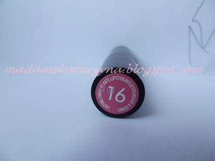 Rimmel Kate Moss numer 16 | Pomadka pudrowy róż