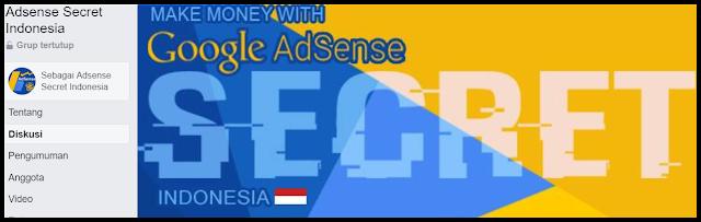 Grup Adsense Secret Indonesia