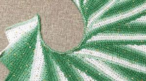 Chal Crochet Alas de Mariposa en Punto Tunecino  / Video Tutorial