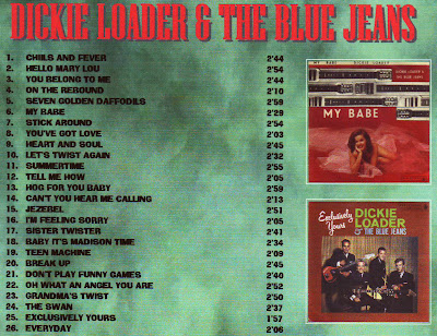 Dickie Loader & The Blue Jeans - My Babe/Exclusviely Yours 1963
