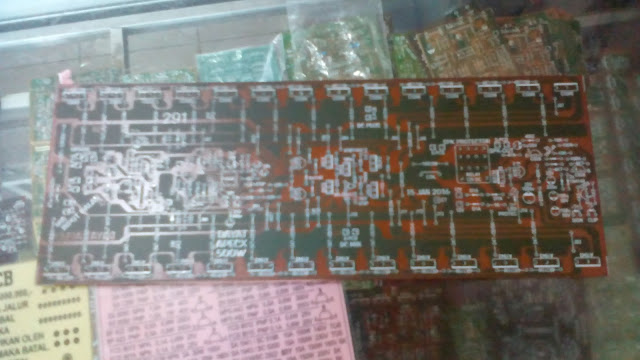 Top View PCB Layout design