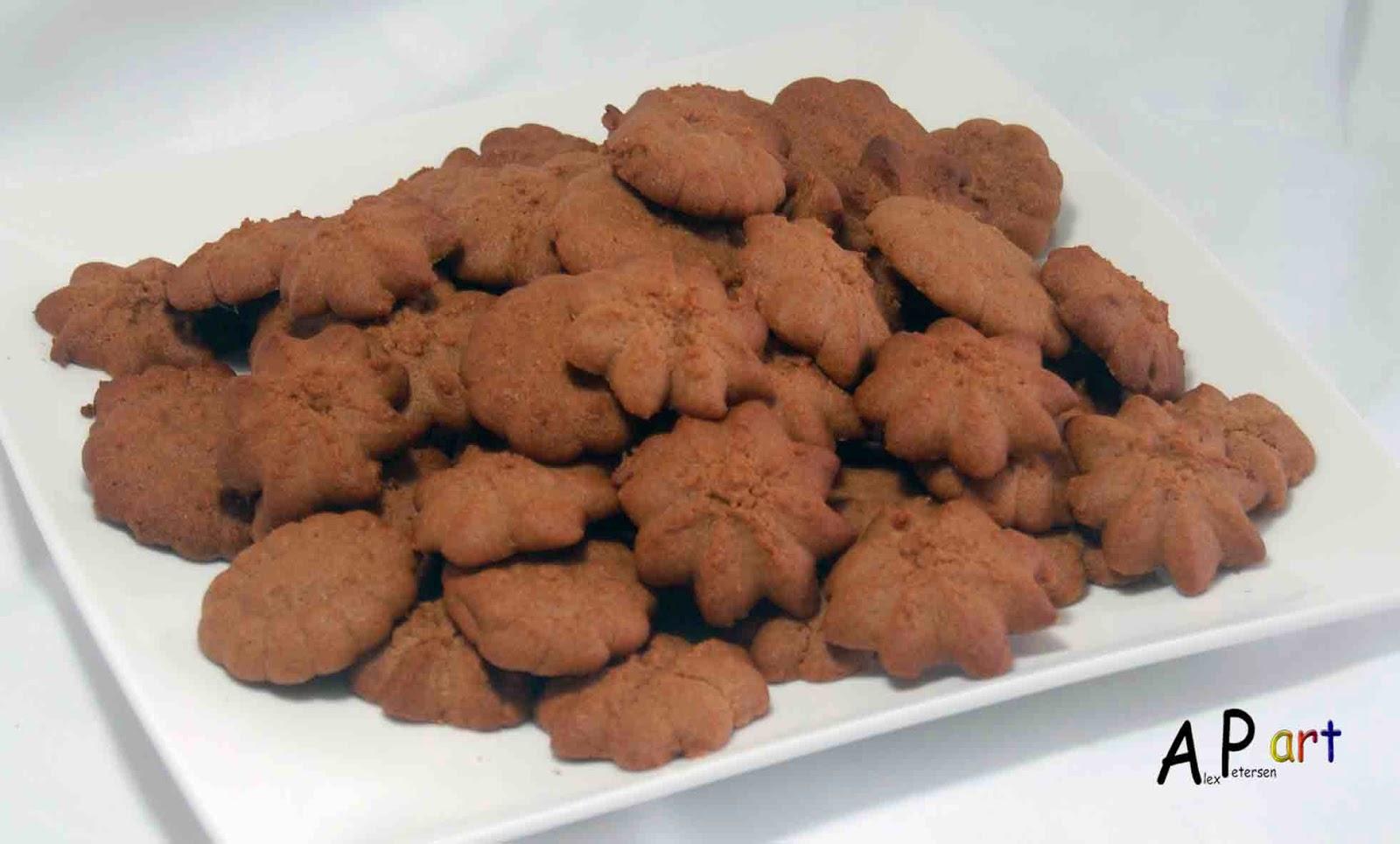 chocolate spritz cookies - photo #21