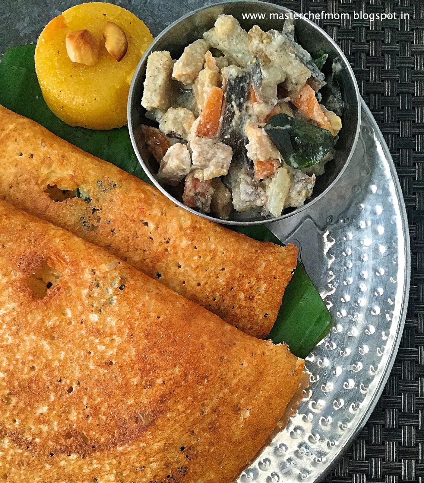 how to make ragi adai in tamil