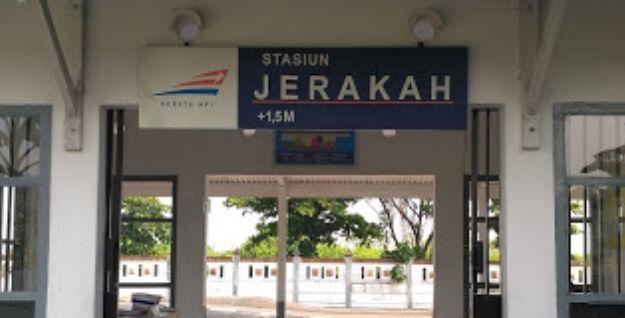 Stasiun Jerakah (JRK) Semarang