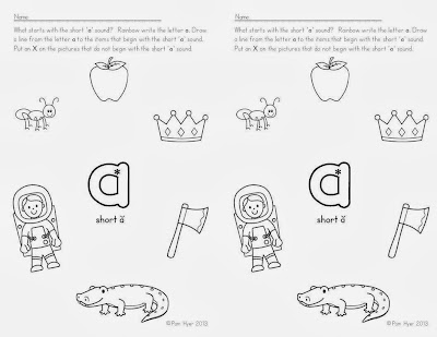 Pam Hyer: Teaching the Alphabet: Identify Initial Sounds
