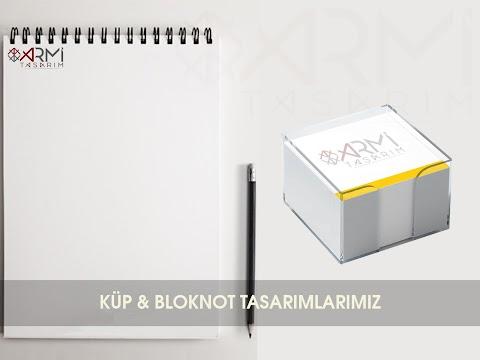 Küp & Bloknot Tasarımlarımız