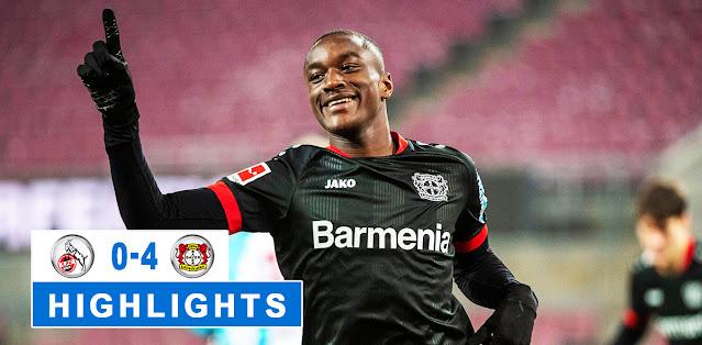 Köln vs Bayer Leverkusen – Highlights