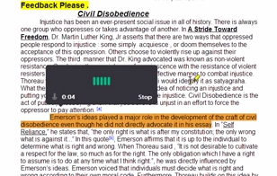 Spela egna videoklipp i google drive presentation