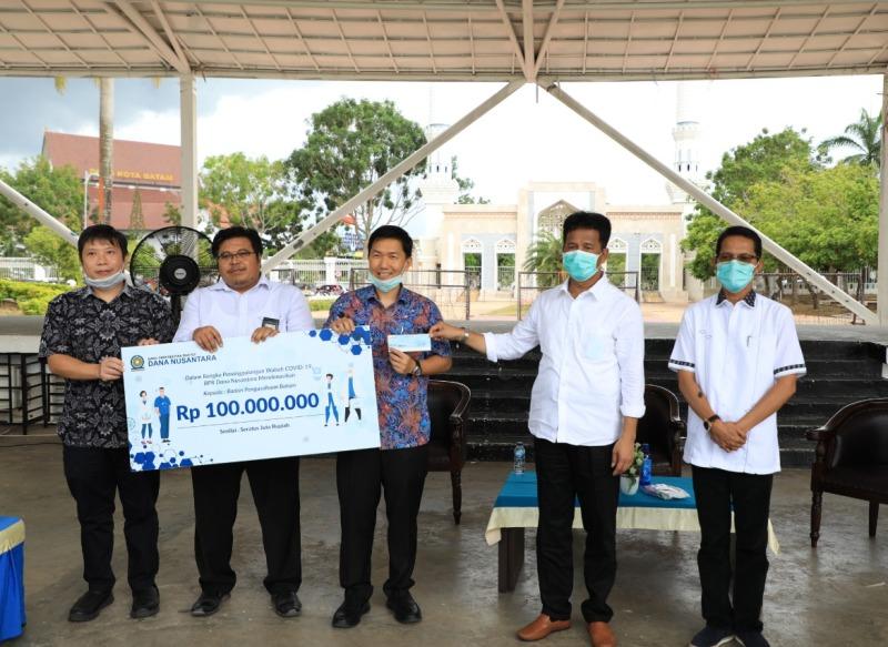 BPR Dana Nusantara Beri Bantuan Pencegahan COVID-19