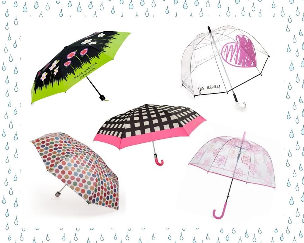 umbrellas, Marc Jacobs, Felix Rey, Kate Spade, DKNY, Vera Bradely