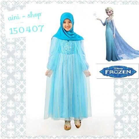 Model Baju Muslim Pesta Untuk Anak Perempuan Terbaru