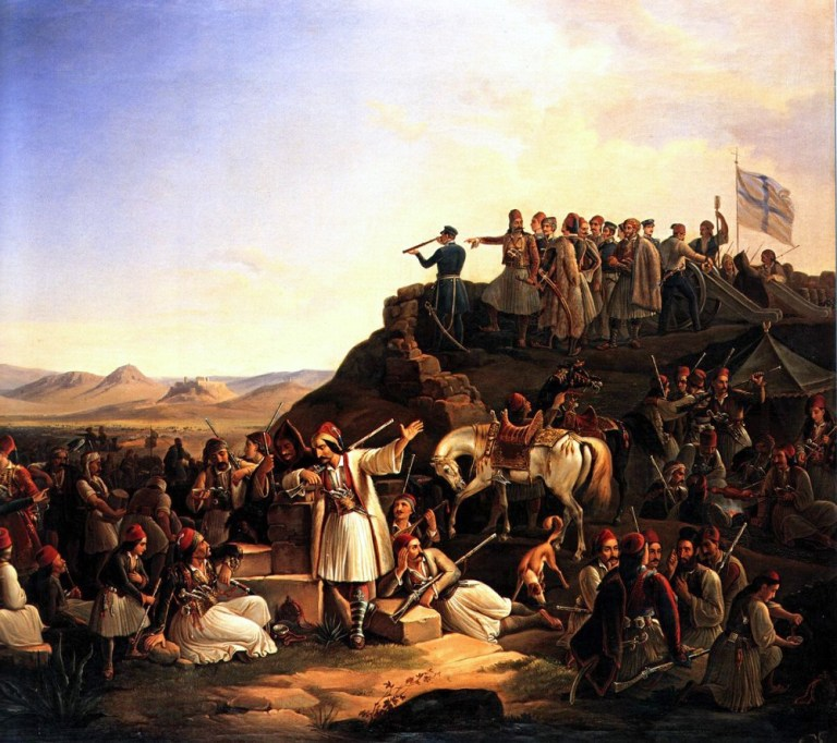 Γιάννης Μακρυγιάννης: μια ελληνική καρδιά - 1827: Οι μάχες στον Πειραιά και η παράδοση  της Ακρόπολης