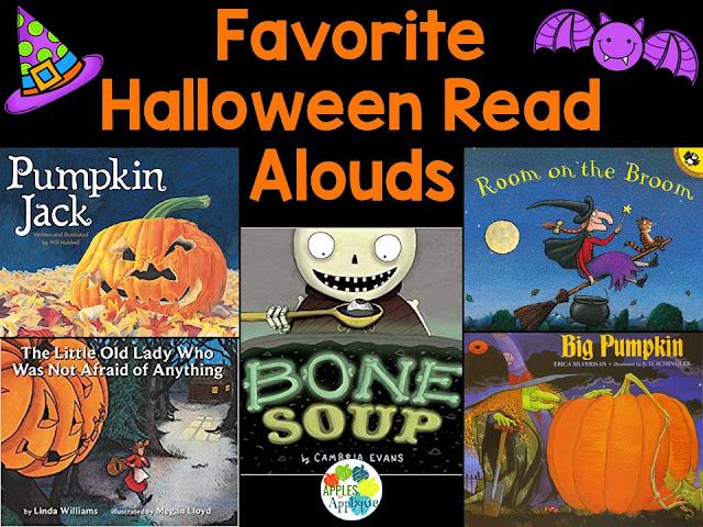 Favorite Halloween Read Alouds   Apples to Applique