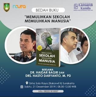 Acara Bedah Buku Haidar Bagir Didemo Umat Islam di Surakarta