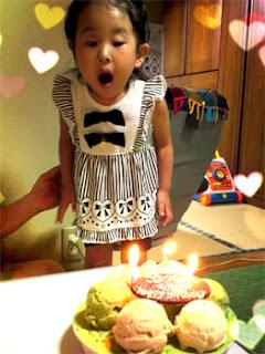 3才の誕生日