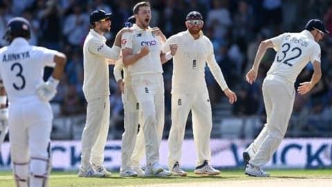 Eng vs Ind 3rd Test Day 4 Highlights: भारत को इंग्लैंड ने पारी और 76 रन से हराया, सीरीज 1-1 से बराबर