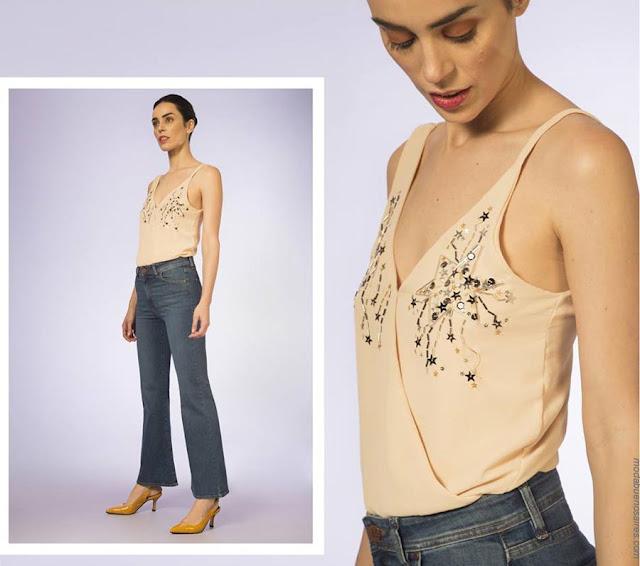 Tops, bodys, pantalones primavera verano 2019. Moda primavera verano 2019.