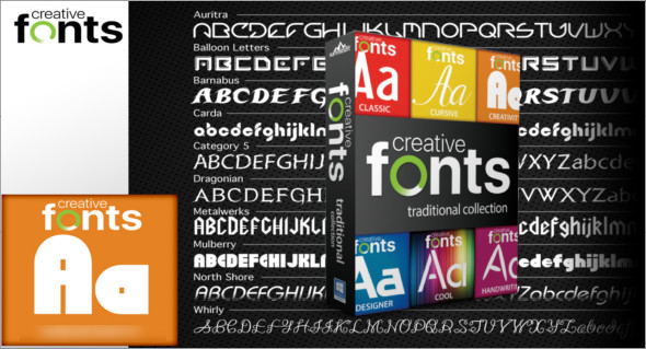 Summitsoft Creative Fonts Collection v2020.1 Pre-Cracked[GraphixTree]