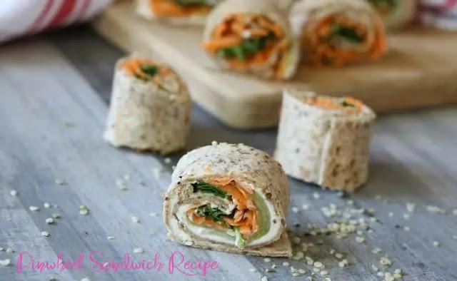 Pinwheel Sandwich Recipe – Jam Pinwheel Sandwich  at Home