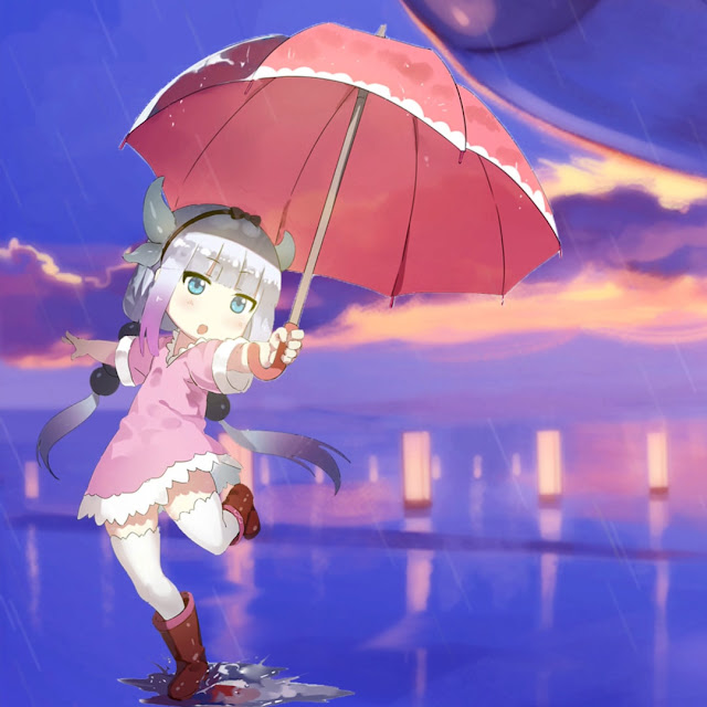 Download Kanna Kamui Rain Wallpaper Engine FREE