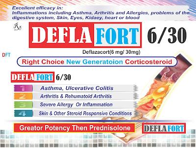DEFLAFORT Deflazacort 6/30mg