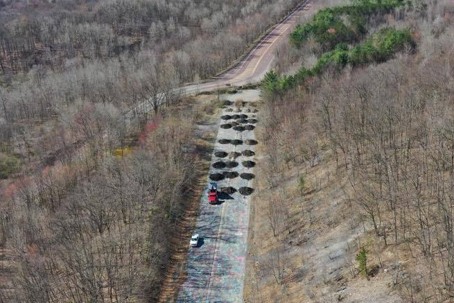 Skook News Work Begins On Centralia S Graffiti Highway State