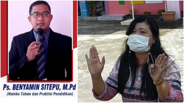 Terlibat Pencabulan, Pendeta Benyamin Sitepu Dipecat Yayasan dan Diganti Istrinya
