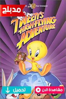 مشاهدة وتحميل فيلم تويتي ومغامرته في الطيران Tweety's High-Flying Adventure 2000 مدبلج عربي