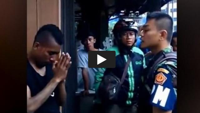 VIDEO: Hendak Rampas Paksa Motor Seorang Pria, Debt Collector Ini Dilabrak Polisi Militer Hingga Nangis