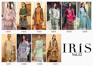 Iris vol 12 Pakistani dress wholesale Price