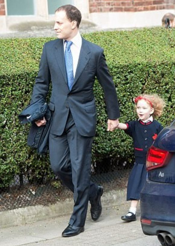 Maud Windsor was dropped off by her father Lord Frederick Windsor